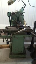 New listing Small Kent Owens horizontal mill with extra arbors and gears pneumatic collet 5c