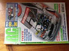 $$ Revue RC Driver International N°8 Pneus Sorex  EB-4 S3 Thunder Tiger  Moto RG