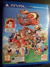 One Piece Unlimited World Red Nuevo PS Vita Gran Manga en castellano In english