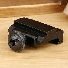 1 Pair Weaver Picatinny to Dovetail Adapter 20mm to 10mm Scope Rail Mount Base