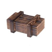 Kinder Puzzle Lernspielzeug Holz Magic Box Secret Holz Magic Schublade XJ