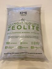 KMI Zeolite Powder, 100% Natural Soil Amendment for Farming, 5lb Bag