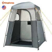 Kingcamp Camping Shower Tent Outdoor Mesh Floor Privacy Portable Warterproof Hot
