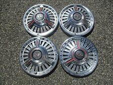 1965 to 1966 Chevy Nova Chevelle Super Sport spinner hubcaps wheel covers set