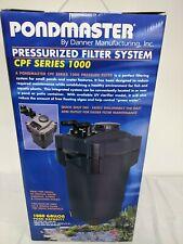 Pondmaster 1,000 Gallon Pressurized Filter System