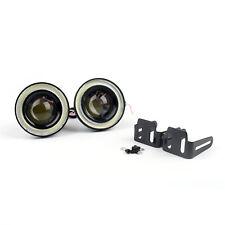 New Car Fog light lamp COB LED lens angel eyes ultra bright White 3.5inch UE