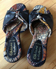 Sandals Italy CHIARA by Zaffagnini Leather Shoes Women 36 US 5.5 Brand New RARE
