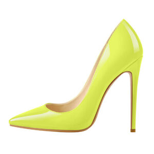 Women's Sexy Pointed Toe Stilettos Very High Heel Shoes Nightclub Wedding Pumps