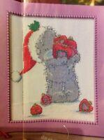 (X5) Me To You Tatty Teddy Bear Baubles Christmas Cross Stitch Chart