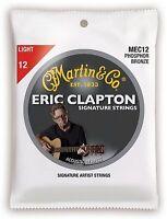MARTIN GITARRENSAITEN für Akustikgitarre, CLAPTON´S CHOICE, light 012-054- MEC12
