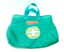 Fisher Price Pink Doctors Kit Replacement Green Fabric Bag 2005