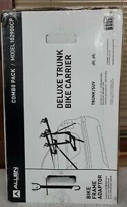 ALLEN 102900CP DELUXE TRUNK Bicycle CARRIER ADAPTOR BAR COMBO PACK 2-BIKE RACK