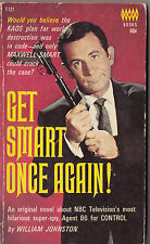 1966 Tempo Books Get Smart Once Again TV Show PB Book