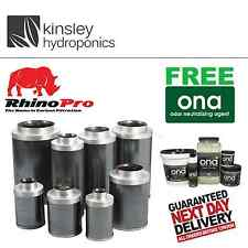 """5"""" / 125mm Rhino Pro Carbon Filter For Professional & Hobby Growers Hydroponics"""