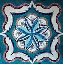 Judy Niemeyer Fire Island Hosta Queen ~ Paper Piecing Quilt Pattern ~ Quiltworx