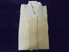 "Vintage NEW ""CREAM"" w Ruffles after six 15/34  65% Poly 35% Cotton ""OLD STOCK"""