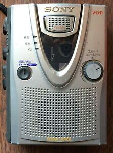 Sony TCM 400v Voice Recorder Cassette Player