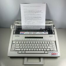 Brother Ax 600 Electronic Word Processor Typewriter Quiet Tested Working