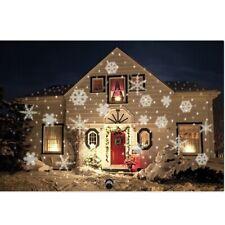 Xmas Snow Lights LED Projection Lawn Laser Lightlaser Outdoor Garden Light