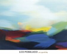 ABSTRACT ART PRINT On a Good Day Leo Posillico