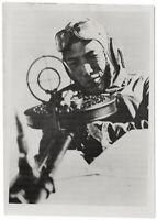Bordschütze der japanischen Luftwaffe. Orig-Pressephoto um 1940