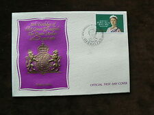 Gibraltar First Day Cover Royalty Postal Stamps