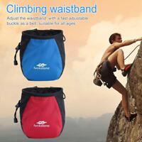Waterproof Outdoor Rock Climbing Waist Belt Bags Magnesium Powder Storage Pouch