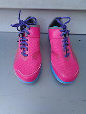 PUMA TRAIL RUNNING SHOES SNEAKERS WOMEN'S GIRLS SIZE 6 PINK BLUE GREY