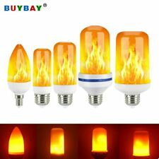 2020 New E27 Flame Bulb LED Dynamic Flame Effect Fire Light Bulbs Corn Bulb