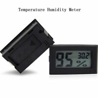 LCD Digital Thermometer Humidity Hygrometer Temp Gauge Temperature Meter Monitor