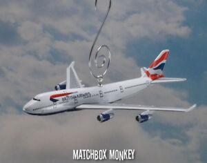 British Airways Boeing 747-400 Christmas Ornament Airplane Plane Jumbo Air Jet