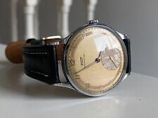 Tissot antimagnetique Calatrava Style Jumbo Mens Watch 35mm Mechanical Two Tone