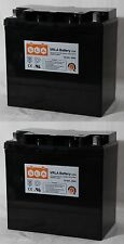 2 Pack - 12V 55Ah Battery for Jazzy 1101,1105,1120,1121,HD,1122,1133 (FAST SHIP)