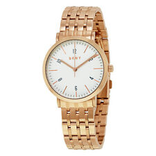 DKNY Minetta White Dial Ladies Rose Gold Tone Watch NY2504