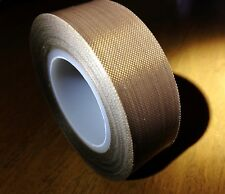 1x Teflon Adhesive Tape Cloth Hi-Temp Insulate 19mm*10m