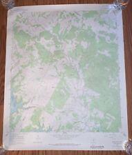 Original 1966 map Travis Peak Austin Texas Geological Survey Rare 27x22