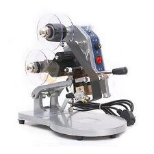 Manual Direct Thermal Hot Foil Stamping Coding Printer Date Ribbon Machine 220V
