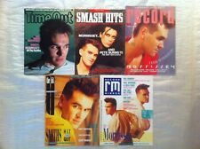 Morrissey. The Smiths. Magazines.Time Out.Smash Hits.£27 for 2.In New Condition.