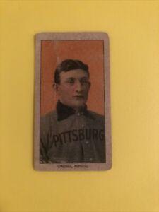 1909 honus wagner t 206 tobacco card read description