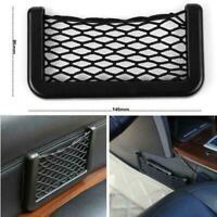 Auto Car Interior Body Edge ABS Elastic Net Storage Phone Accessorie Holder I5T5