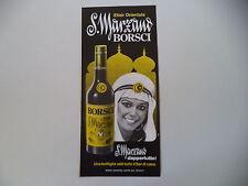 advertising Pubblicità 1977 AMARO S. MARZANO BORSCI