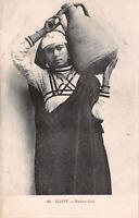 R252892 Egypt. Native Girl. Jeune fille arabe. P. Coustoulides. Postcard