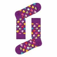 Happy Socks Rubber Duck Socks, Purple