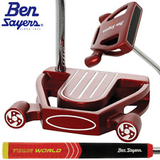"""NEW 2018"" BEN SAYERS XF RED NB2 34"" MALLET PUTTER +HEADCOVER & OVERSIZED GRIP"