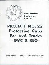 Equipment Brochure - Roscommon Protective Cab Gmc Reo Truck Fire Service(E5914)