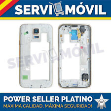 Carcasa Marco para Samsung Galaxy S5 G900F Dorado Chasis i9600 sm-g900f Oro
