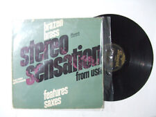 Henry Jerome And His Orchestra – Brazen Brass Features ... Saxes -Disco 33 Giri