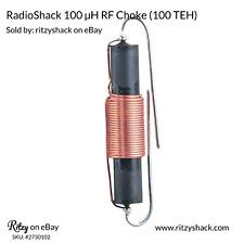 RadioShack® 100 µH RF Choke, 100 TEH (2730102) 100 microhenries