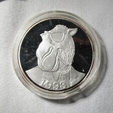 Camel Cigarettes Silver 1 Toz .999 Medal Coin Round AJ387