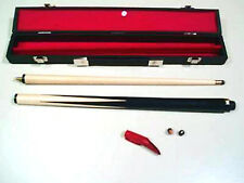 """JUNIOR CUE AND CASE SET. 36"""" 2 PIECE CUE. IDEAL PRESENT FOR YOUNG PLAYERS"""